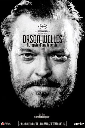 Poster of Orson Welles: Shadows & Light