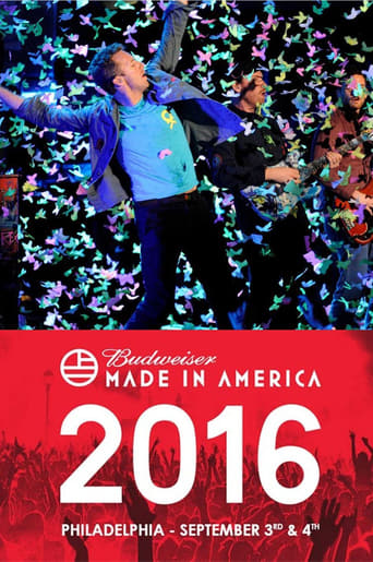 Poster of Coldplay - Budweiser Made in America Festival
