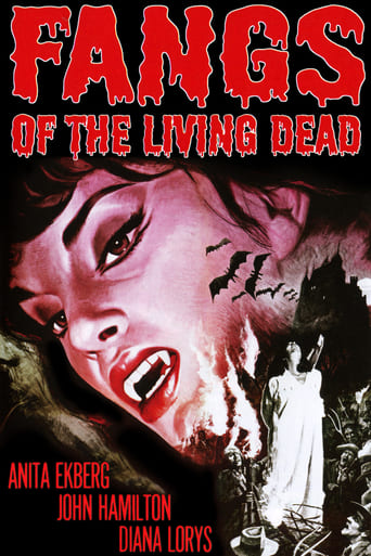 Poster of Fangs of the Living Dead