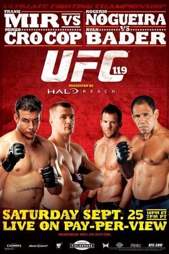 Poster of UFC 119: Mir vs. Cro Cop