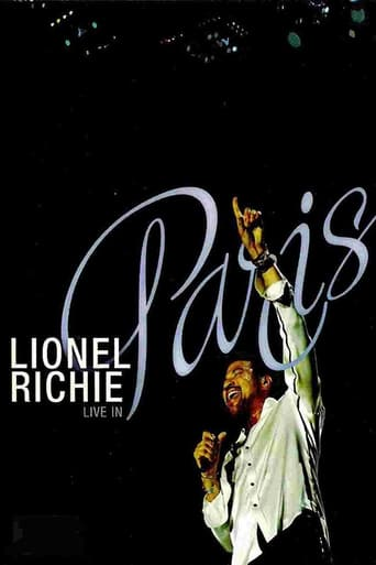 Poster of Lionel Richie: Live In Paris