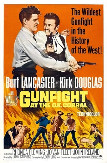 Poster of Gunfight at the O.K. Corral