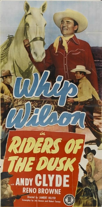 Poster of Riders of the Dusk