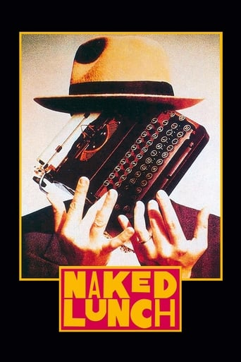 Poster of Naked Lunch