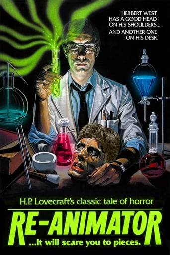 Poster of Re-Animator