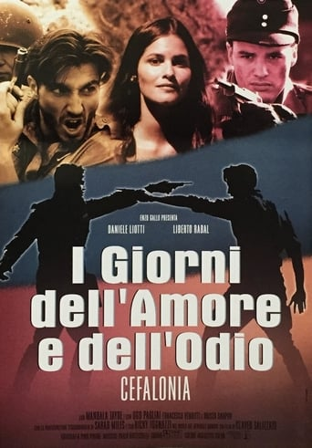Poster of I giorni dell'amore e dell'odio - Cefalonia