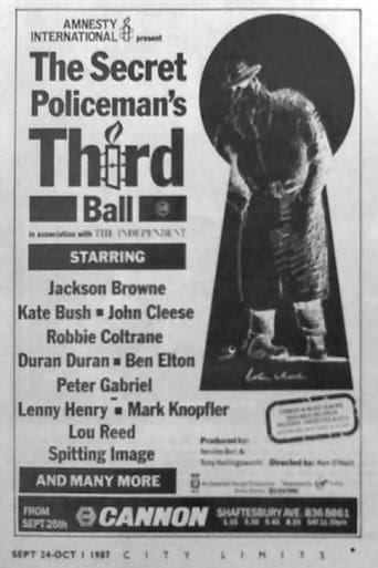 Poster of The Secret Policeman's Third Ball