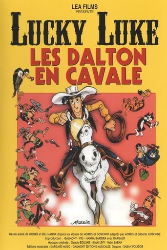 Poster of Lucky Luke: Daltons on the Loose