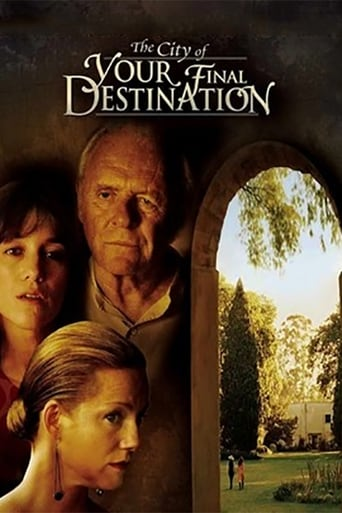 Filmposter von The City of Your Final Destination