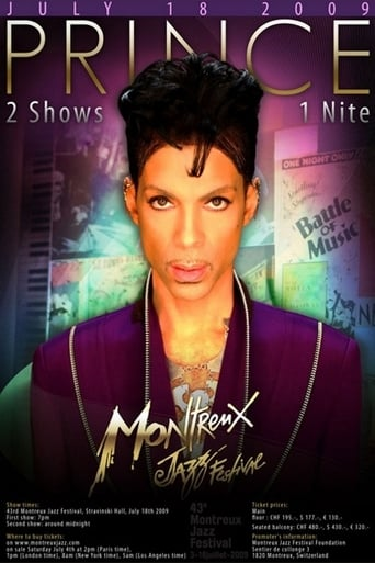 Poster of Prince: Montreux Jazz Festival (Early Show)