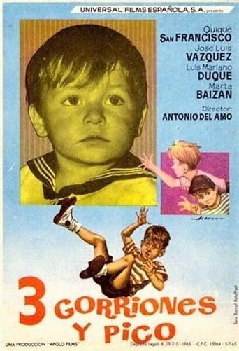 Poster of Tres gorriones y pico