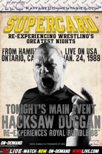 Poster of Supercard: Hacksaw Duggan Re-Experiences Royal Rumble '88