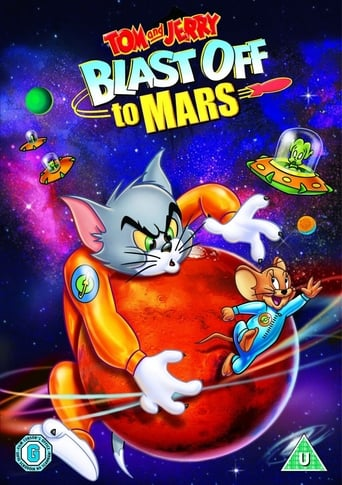 Poster of Tom and Jerry Blast Off to Mars!