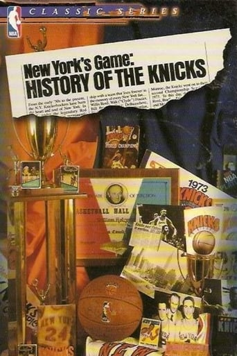 Poster of New York's Game: History of the Knicks (1946-1990)
