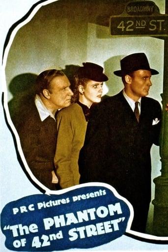 Poster of The Phantom of 42nd Street