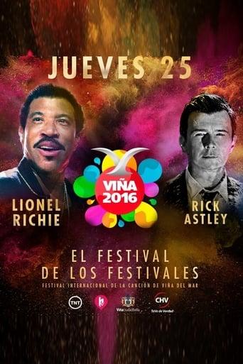 Poster of Lionel Richie ao Vivo (Festival de Viña del Mar, 2016)