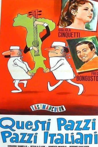 Poster of Questi pazzi, pazzi italiani