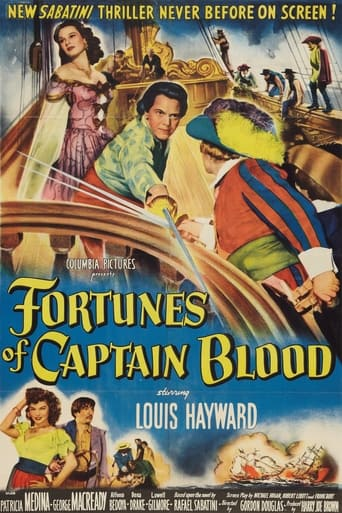 Poster of Fortunes of Captain Blood