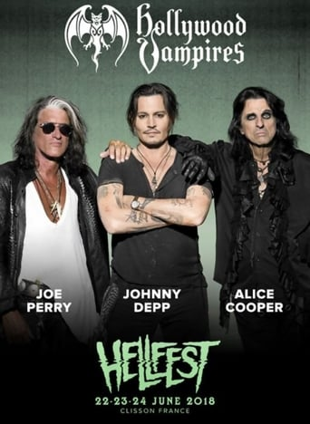Hollywood Vampires Live at Hellfest 2018 poster