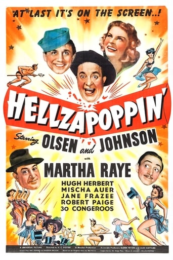 Poster of Hellzapoppin'