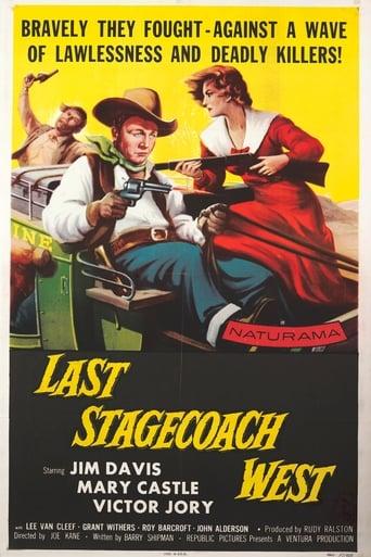 Poster of Last Stagecoach West