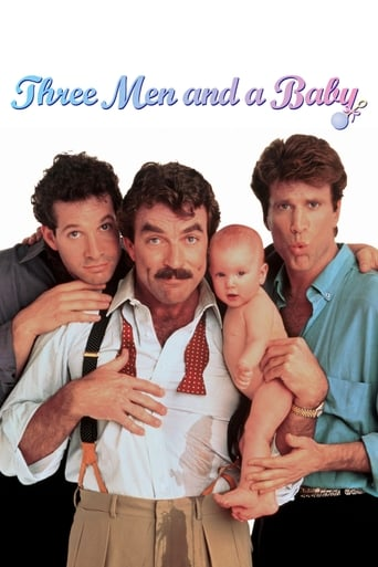 Poster of 3 Men and a Baby