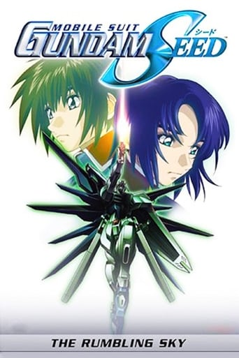 Poster of Mobile Suit Gundam SEED Movie III: The Rumbling Sky