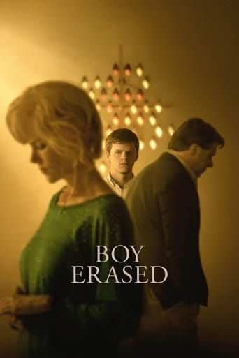 Poster of Boy Erased - Vite Cancellate