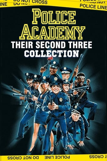 Poster of Police Academy Collection Part Two