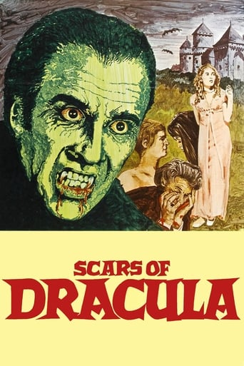 Poster of Scars of Dracula