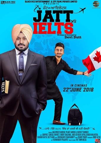 Poster of Jatt vs. Ielts