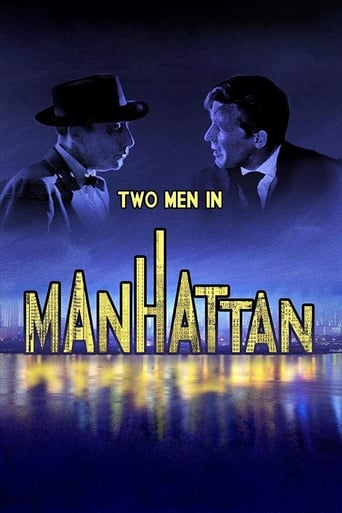 Poster of Two Men in Manhattan