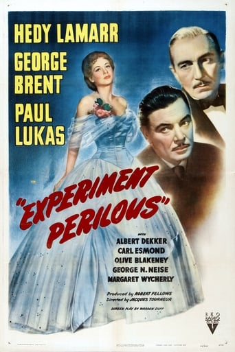 Poster of Experiment Perilous