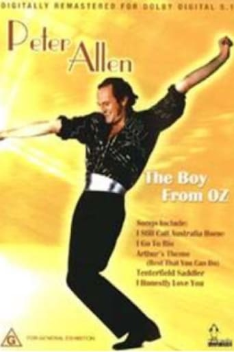 Poster of Peter Allen: The Boy From Oz