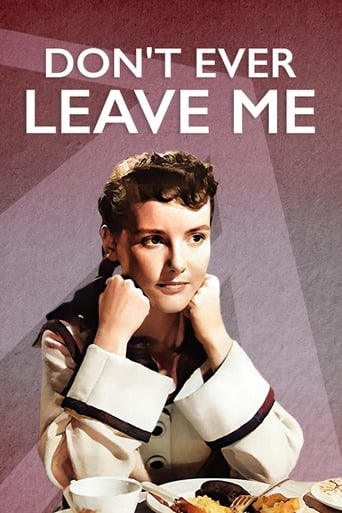 Poster of Don't Ever Leave Me