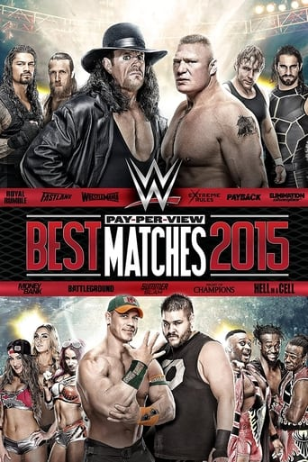 Poster of WWE Best Pay-Per-View Matches 2015