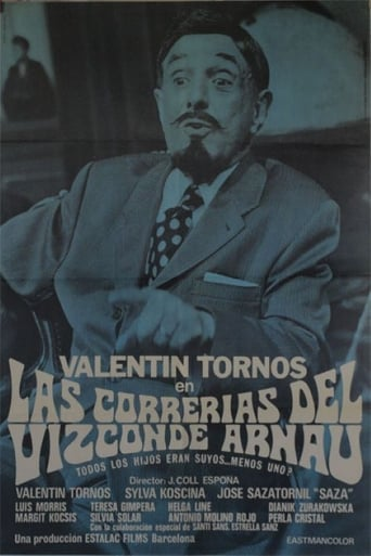 Poster of Las correrías del Vizconde Arnau