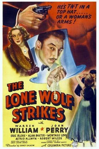 Poster of The Lone Wolf Strikes