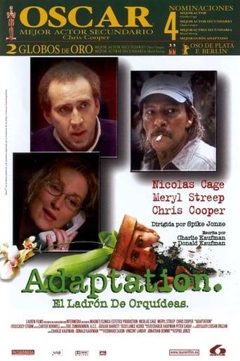 Poster of Adaptation. El ladrón de orquídeas