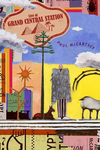 Paul McCartney: Live at Grand Central Station poster