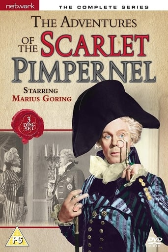 Poster of The Adventures of the Scarlet Pimpernel