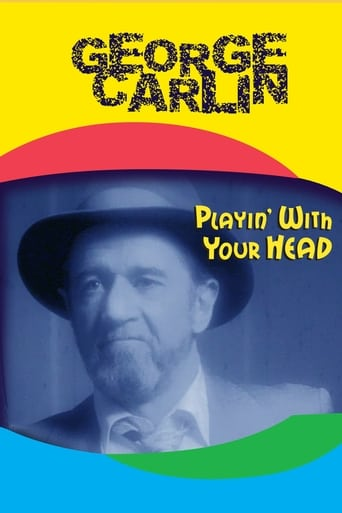 Poster of George Carlin: Playin' with Your Head