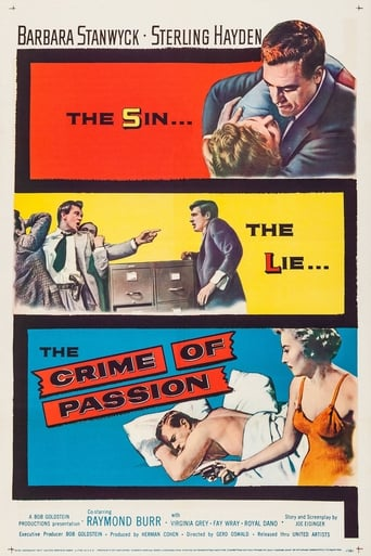 Poster of Crime of Passion