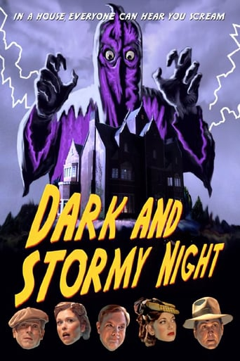 Poster of Dark and Stormy Night