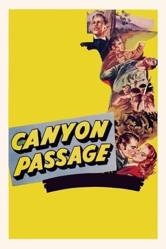Poster of Canyon Passage