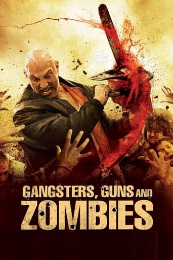 Poster of Gangsters, Guns and Zombies