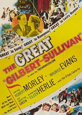 Poster of The Story of Gilbert and Sullivan
