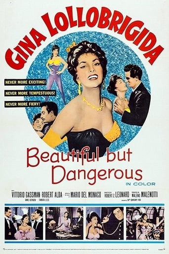 Poster of Beautiful but Dangerous
