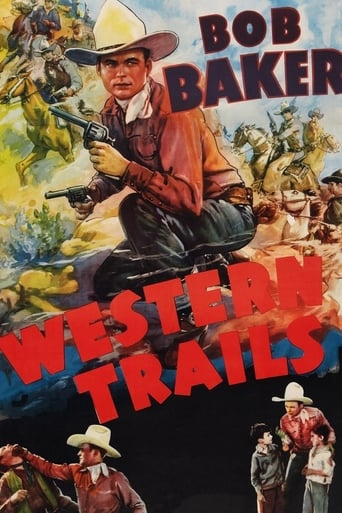 Poster of Western Trails