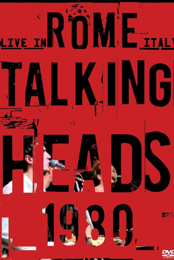 Poster of Talking Heads: Live in Rome